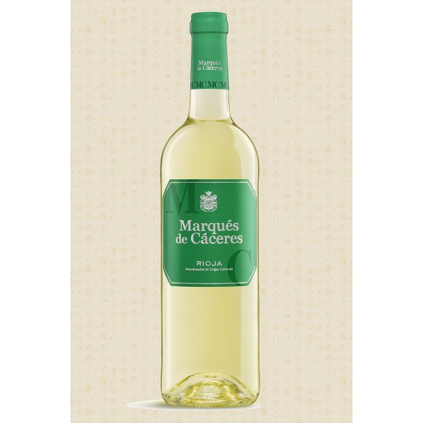 White wine Rioja Marques Caceres Joven 75 Cl 12º