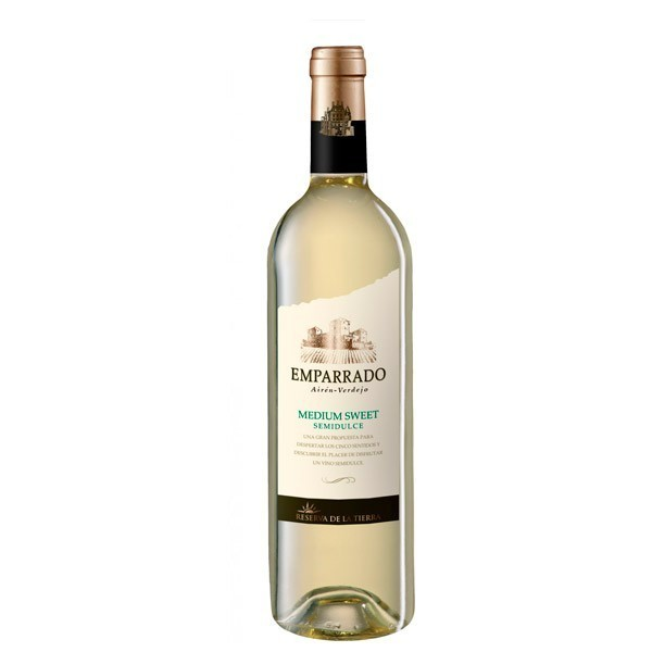 White wine Emparrado Semi Dulce 75 Cl 11º