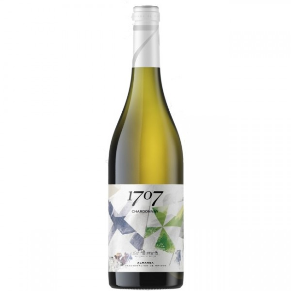 White wine 1707 Chardonay 75 Cl 14º