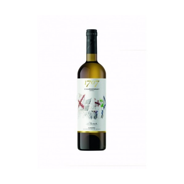 White wine 1707 Chardonnay Barrica 75 Cl 13,5º