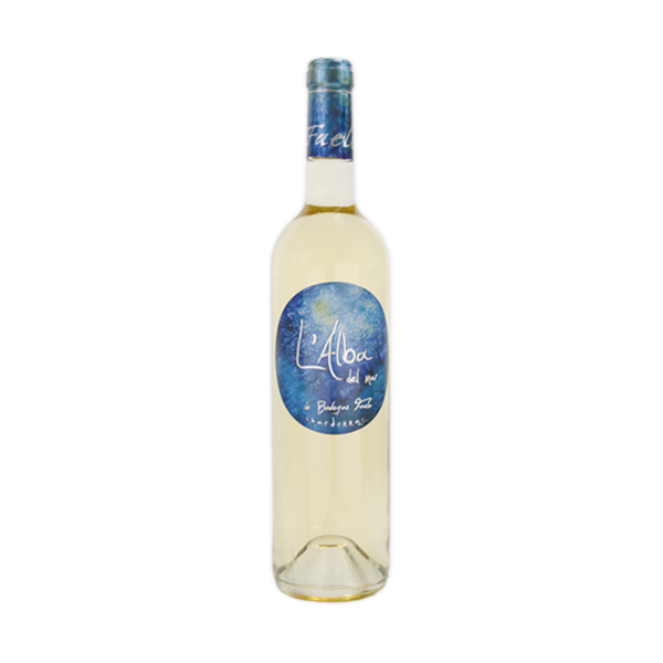 White wine L'Alba Blanco Chardonnay Barrica 75 Cl 12º