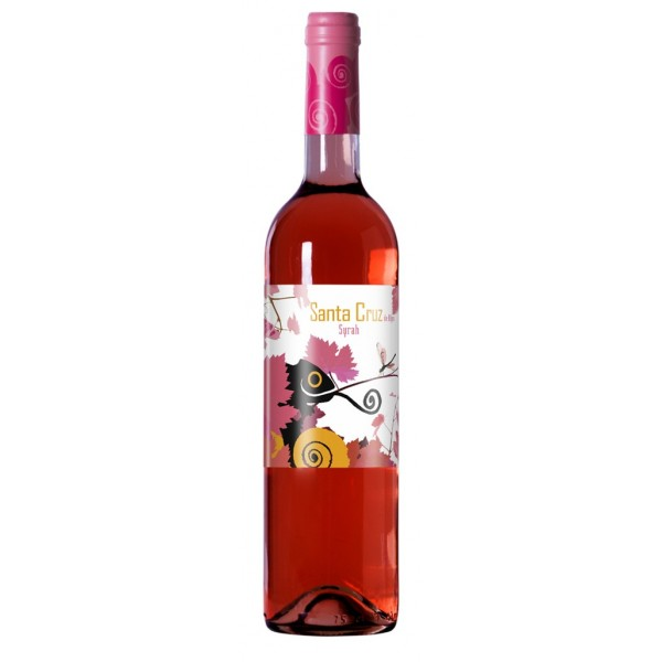 Rosé wine Santa Cruz 13.1º 75 Cl