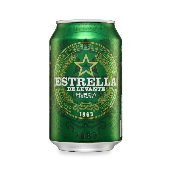 Cerveza Estrella Levante 33 Cl Pack 24