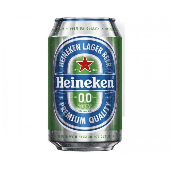 Heineken Beer 0% 33 Cl Pack 24
