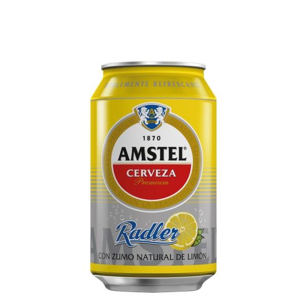 Cerveza Amstel Radler 33 Cl Pack 24