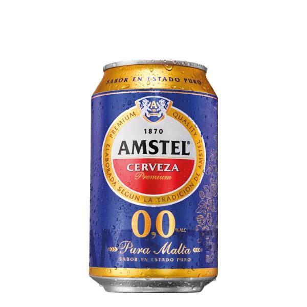 Bière Amstel Sans Alcool 33 Cl Pack 24