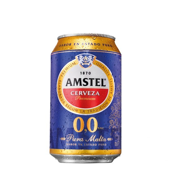 Amstel Alcohol free Beer 33 Cl Pack 24