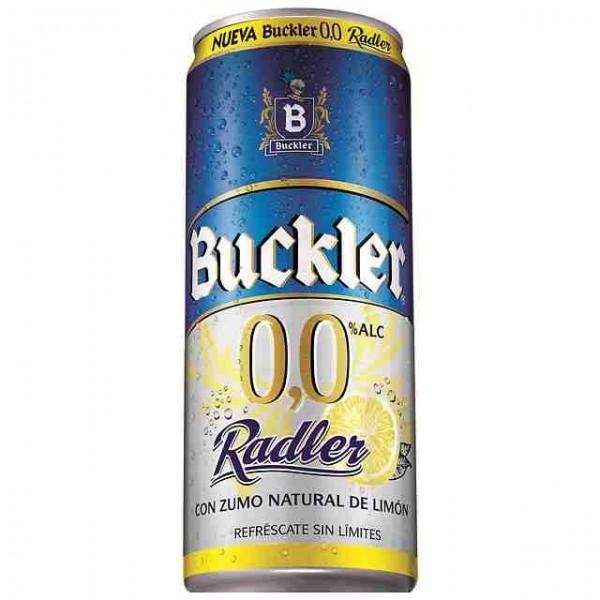 Birra Senza alcool Buckler 0,0% Radler 33 Cl Pack 24