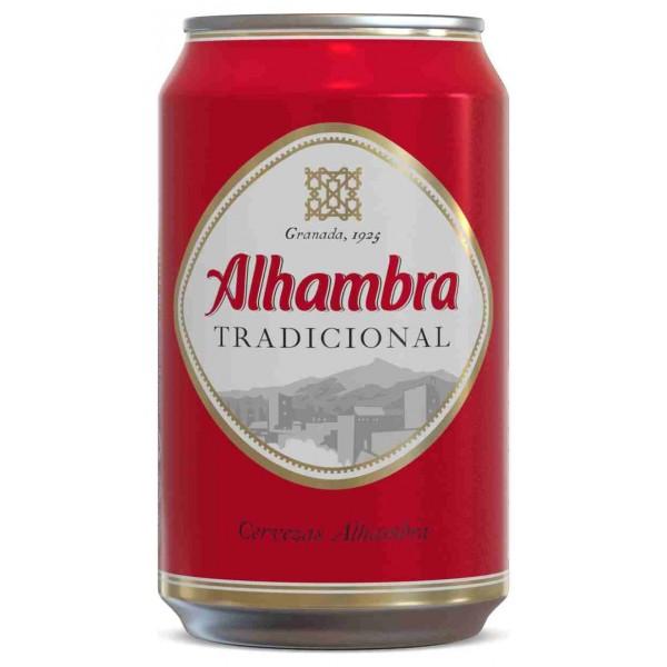 Alhambra Bier 33 Cl Pack 24
