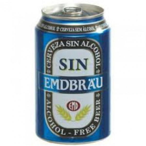 Cerveza Emdbrau Sin Alcohol 33 Cl Pack 24