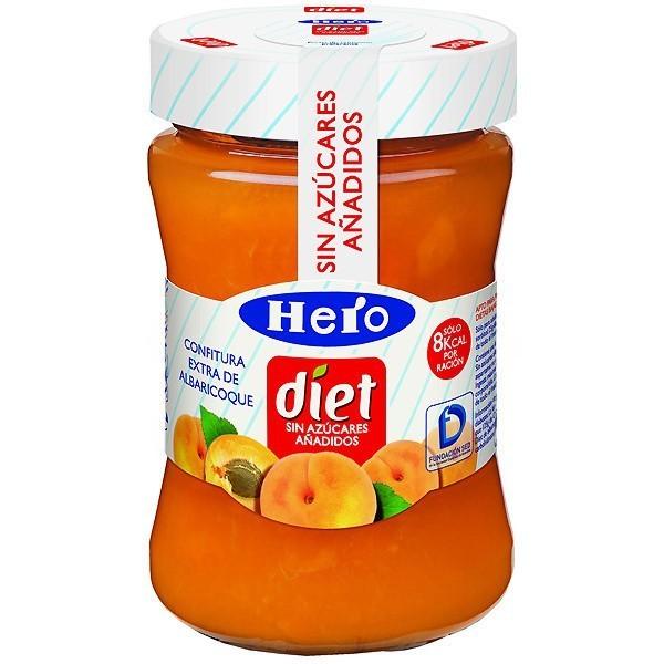 Apricot Jam diet, 280 Gr - Hero