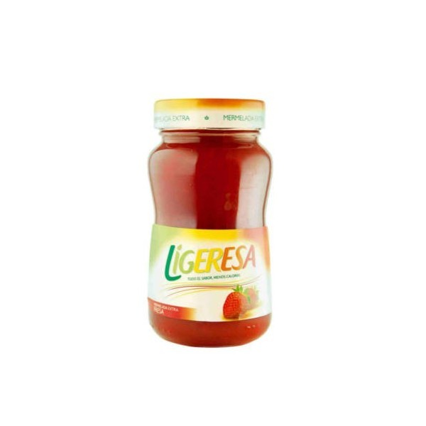 Strawberry marmalade jar 330 Gr -Ligeresa