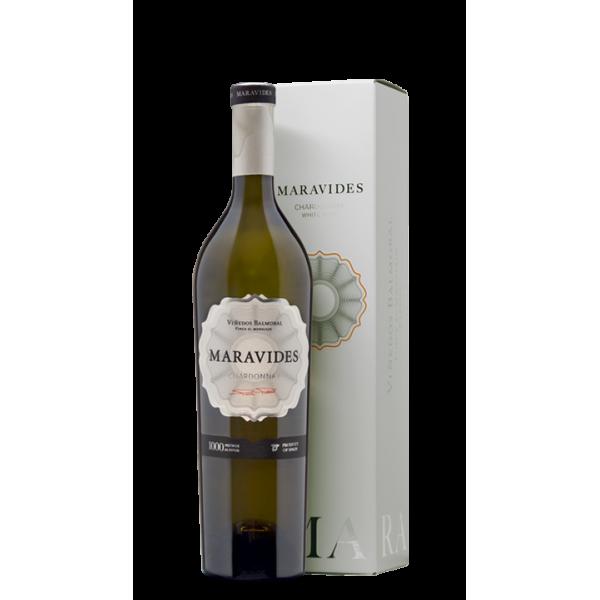 Witte wijn Maravides Chardonay 75 Cl