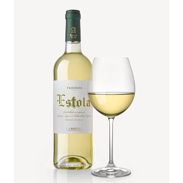 Vino Blanco Estola Verdejo 75 Cl