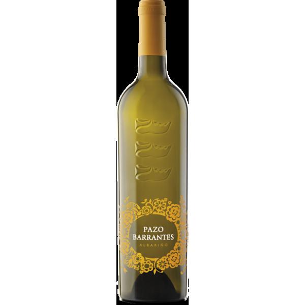 Witte wijn Pazo De Barrantes 75 Cl