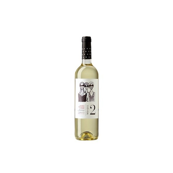 White wine Mas Que 2 75 Cl