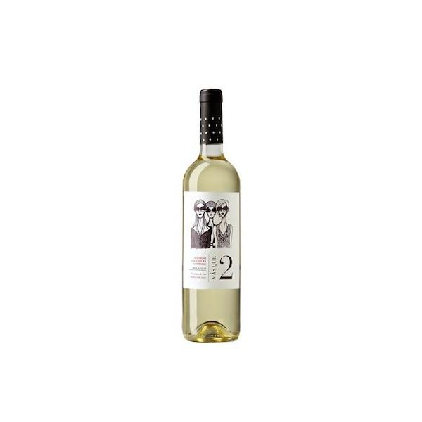 Witte wijn Mas Que 2 75 Cl