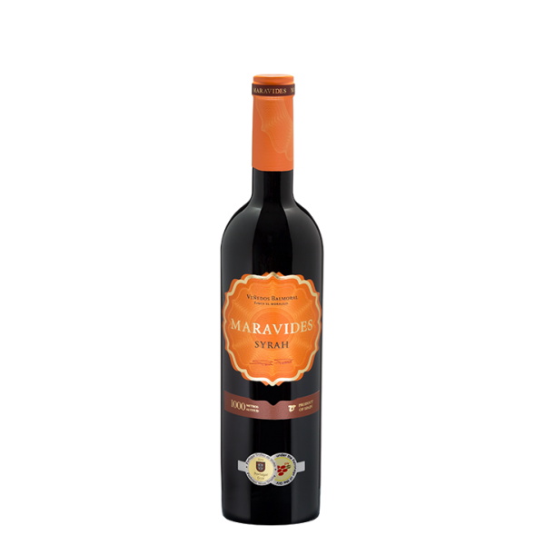 Red wine Maravides Syrah 75 Cl