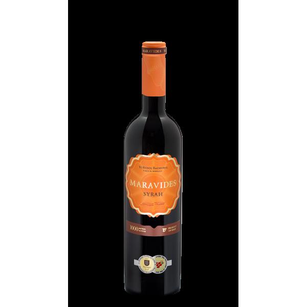 Rotwein Maravides Syrah 75 Cl