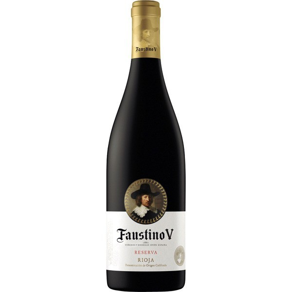 Wine Rioja Faustino V Red Reserve 75 Cl