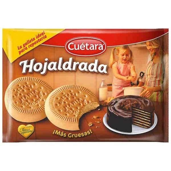 Biscuits Hojaldrada 600 Grs - Cuetara