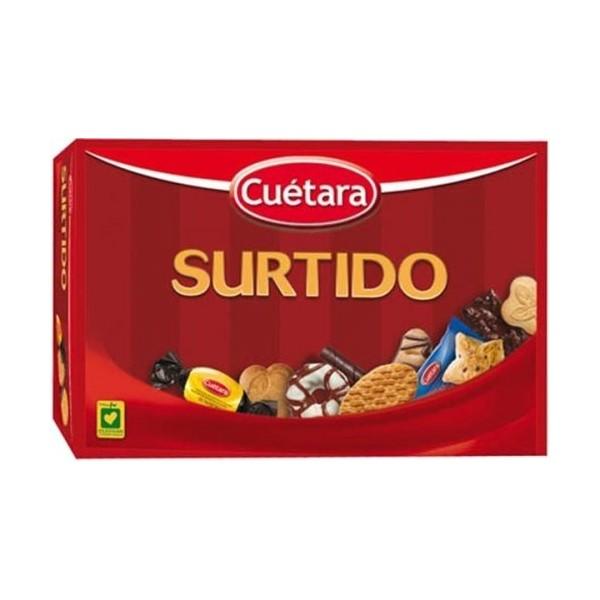 Cuetara assortment biscuits 520 Grs