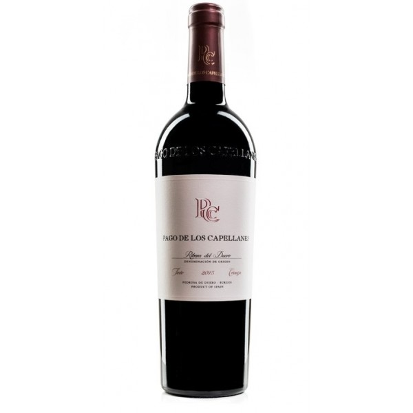 Spanish wine Red Pago De Los Capellanes Crianza 75 Cl
