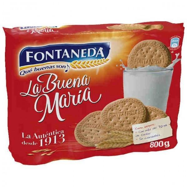 Cookies Maria 800 Grs - Fontaneda