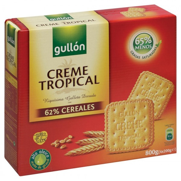 Tropical Cream Biscuits 800 Grs - Gullon