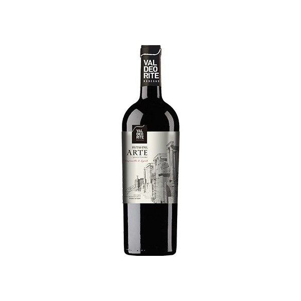 Spanish wine Rutas Del Arte 75 Cl