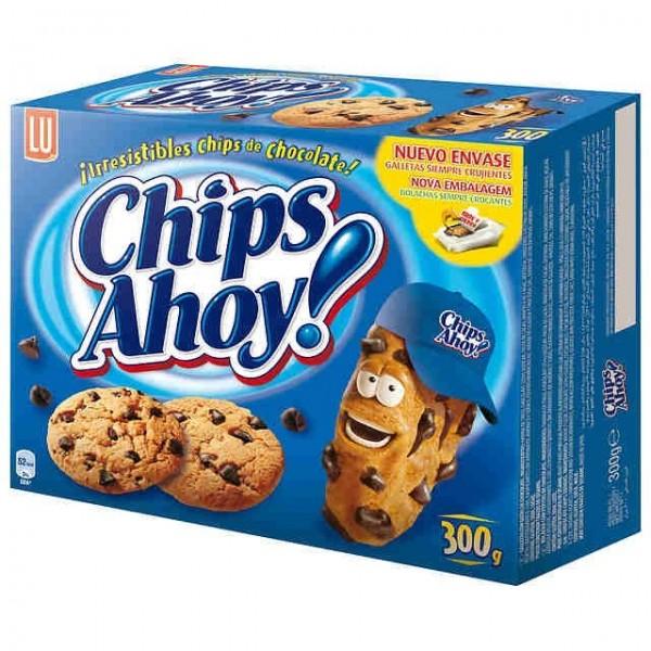 Chips Ahoy Cookies 300 Grs - Lu