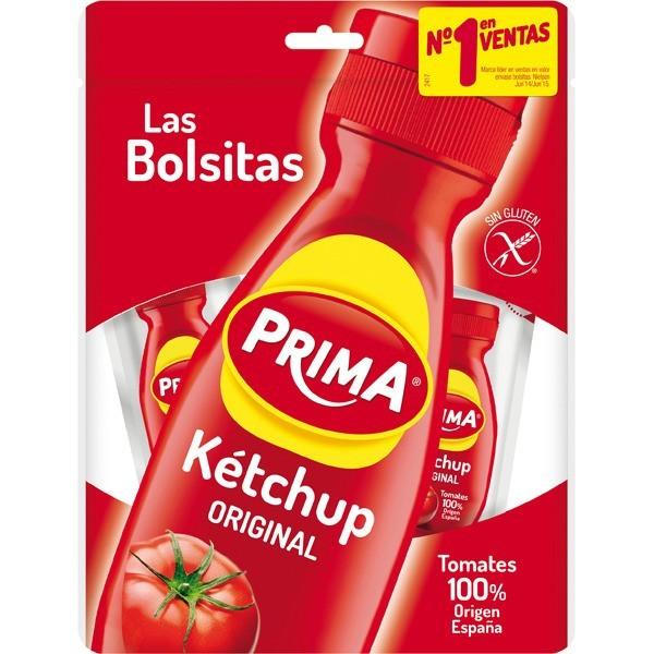 Ketchup Prima bags 15 units 150Gr