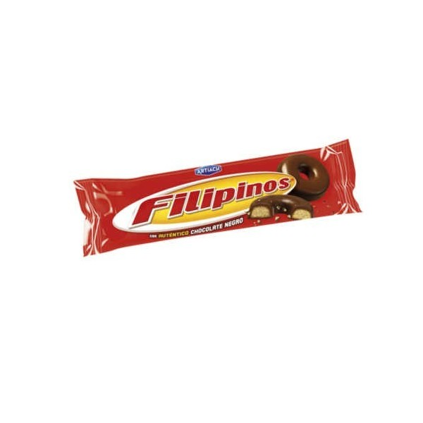Biscuits Artiach Filipinos Black Chocolate 100 Gr