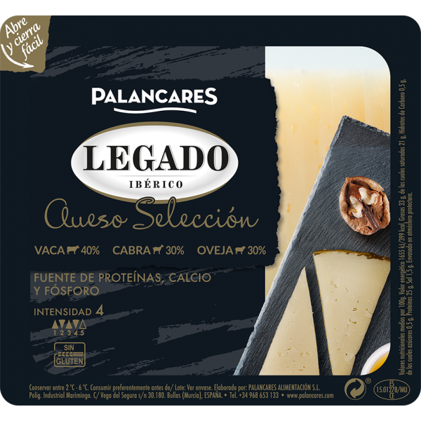 Legado Iberico Palancares mixed cheese 200gr
