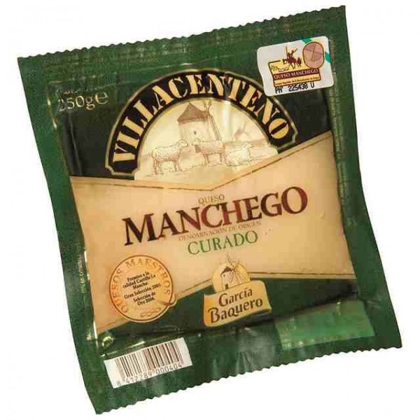 Manchego Half gezouten kaas Garcia Baquero Glutenvrij