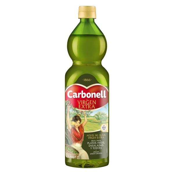 Olio extra vergine di oliva Carbonell 1 L