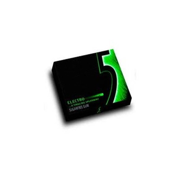 Chewing gum Five Electro Peper mint 12 sheets