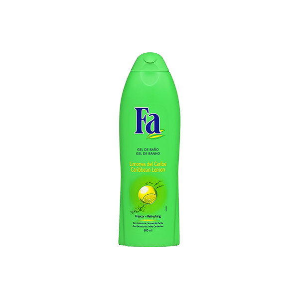 Shower Gel, Fa Caribbean Green Lemons 550ml