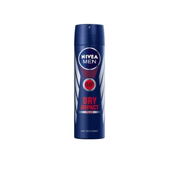 Deodorant Nivea Men Dry Impact Spray 200Ml