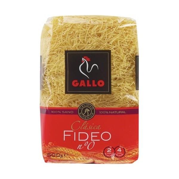 Pasta Gallo Vermicelli Nº0 - 500 grs.