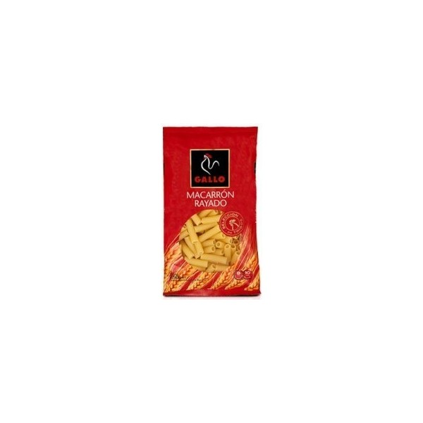 Macaroni Pasta Striped 250 Grs - Gallo