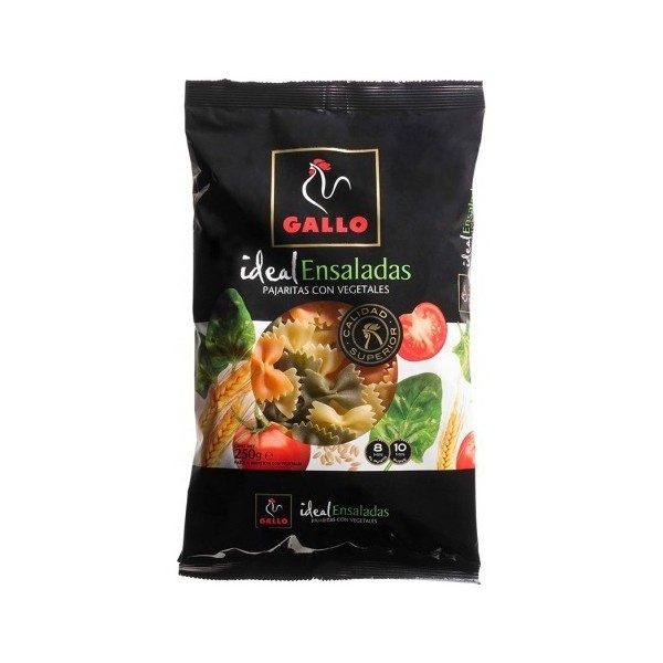 Bowties Vegetable Pasta With 250 Grs - Gallo