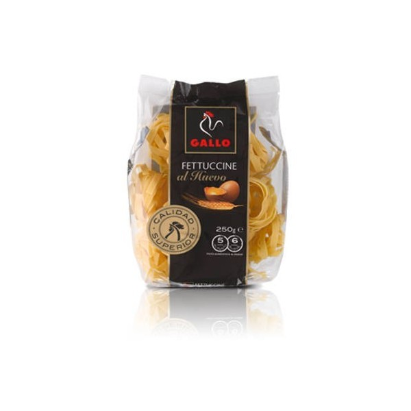 Fettuccine Pasta with Eggs 250 Grs Gallo