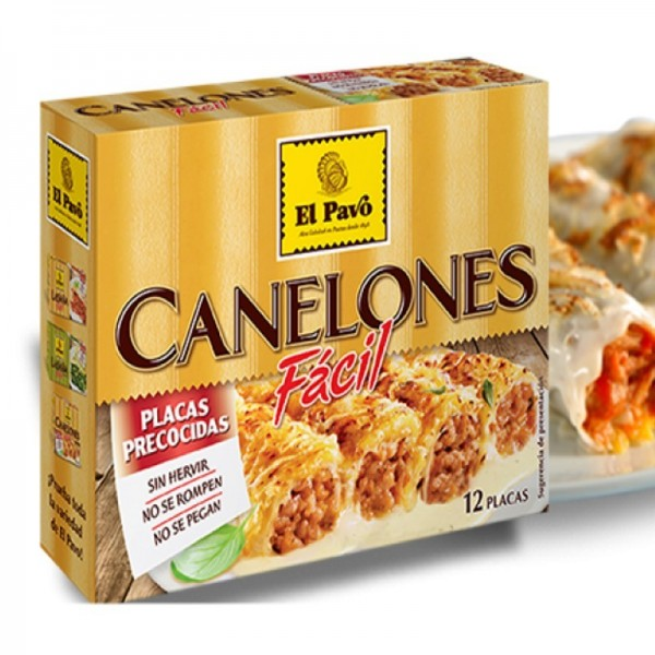 The Instant Easy Facil Cannelloni El Pavo 12 sheets