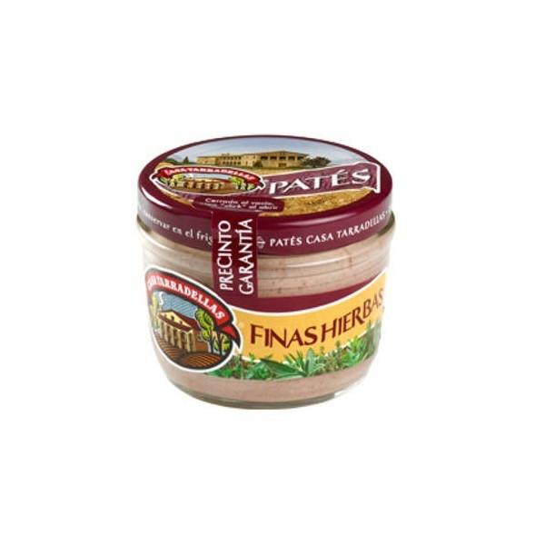 Pate Fine Herbs 125 Grs Casa Taradellas Jar