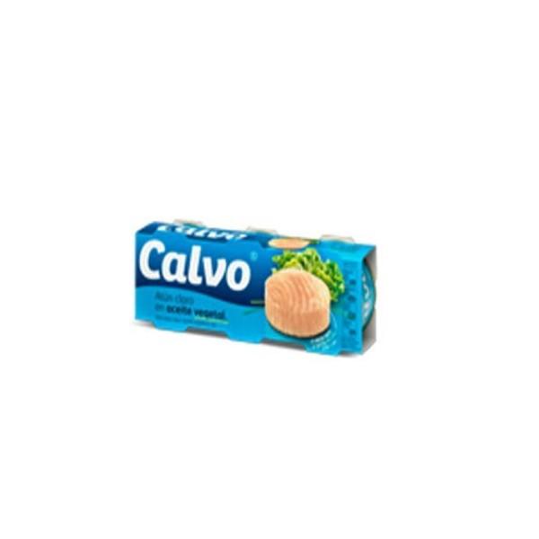 Tuna vegetal oil Calvo Ro-80 Grs P-3 FA