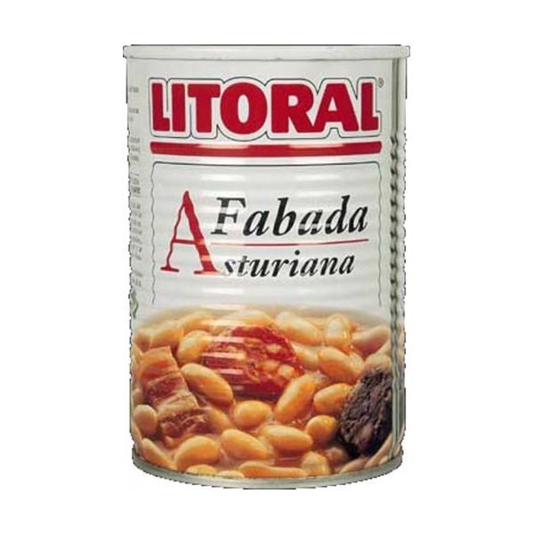 Spanish stew Fabada Asturiana 435 Gr tin - Litoral
