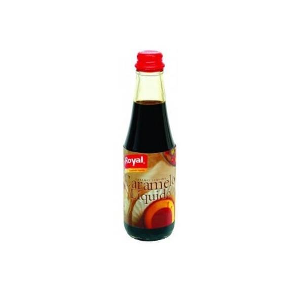 Liquid caramel Royal jar 400 Grs