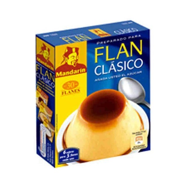 Flan Chino Mandarin Classic 6 bags 30 Grs