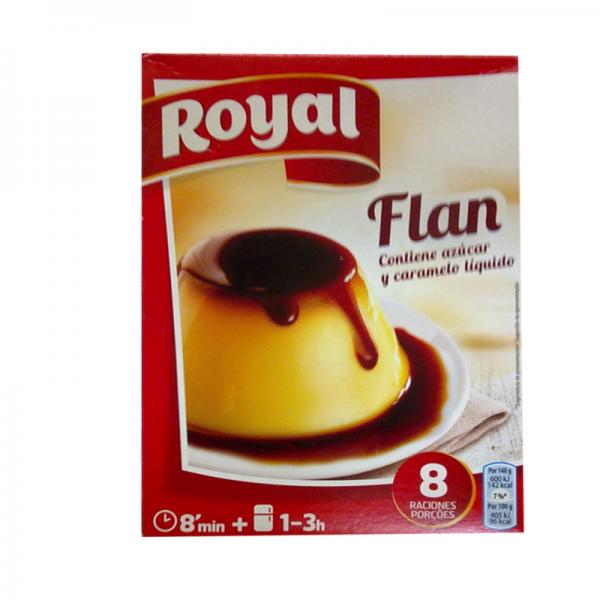 Burnt Sugar Double Flan 186 Grs Royal